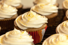Baking Cupcakes Royalty Free Stock Images