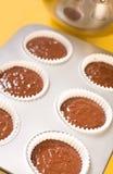 Baking Cupcakes Royalty Free Stock Photo