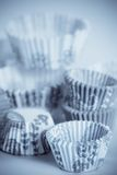 Baking cups for cupcakes or muffins Royalty Free Stock Photo