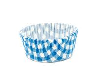 Baking cups. Empty baking cups  on white background Stock Photos
