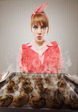 Baking disaster Stock Photography