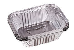 Baking Dish From A Foil Royalty Free Stock Image