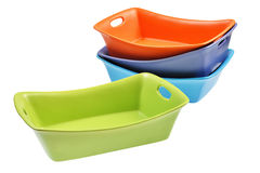 Baking dish set Royalty Free Stock Photos