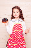 Baking donut Royalty Free Stock Photography