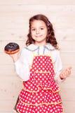 Baking donut Royalty Free Stock Photography