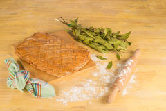 Baking empanada Stock Photo