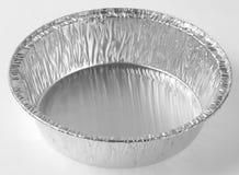 Baking foil plate Stock Image