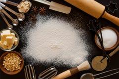 Baking frame Royalty Free Stock Image