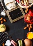 Baking frame. Royalty Free Stock Photos