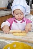 Baking Girl Stock Photos