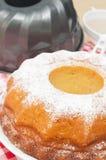 Baking of Gugelhupf Stock Photography