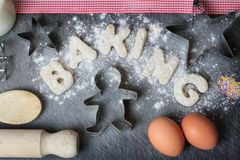Baking from the Heart Stock Images
