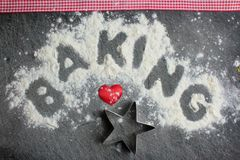 Baking from the Heart Royalty Free Stock Image