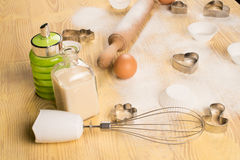 Baking at home Royalty Free Stock Images