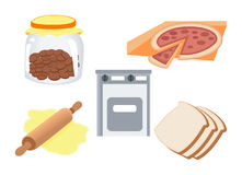 Baking Icons Stock Photos