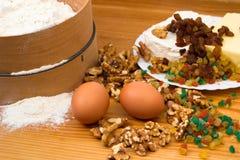 Baking ingredience Stock Photos