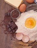 Baking ingredient Royalty Free Stock Photos