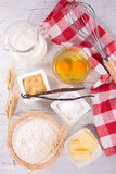 Baking ingredient Royalty Free Stock Photo