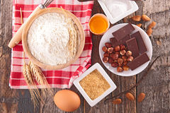Baking ingredient Royalty Free Stock Images