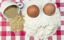 Baking ingredients Stock Photography
