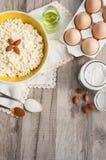 Baking Ingredients Royalty Free Stock Photography