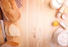 Baking ingredients Royalty Free Stock Photo