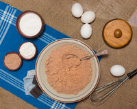 Baking Ingredients Royalty Free Stock Images