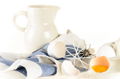 Baking ingredients and tools Stock Images