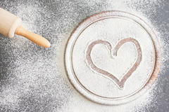 Baking love Stock Photos