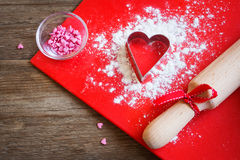 Baking with love Royalty Free Stock Photography