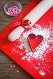Baking with love Royalty Free Stock Photos
