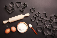 Baking with love Royalty Free Stock Photo
