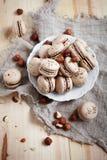 Baking macaroons Stock Image