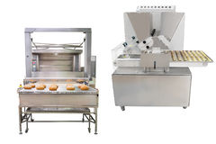 Baking machine. The image of a baking machine Royalty Free Stock Images