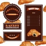 Baking Menu Design. Baking Shop, Cafe, Market. Stock Photos