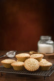 Baking Mince Pies Stock Image