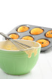 Baking Muffins Royalty Free Stock Images