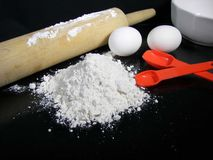 Baking Needs Royalty Free Stock Photography