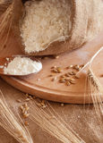Baking Of Bread Royalty Free Stock Photos