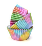 Baking paper cups Royalty Free Stock Photos
