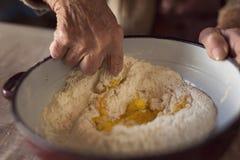 Baking pasta Stock Image