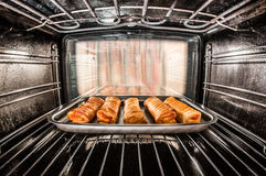 Baking pastry Royalty Free Stock Images