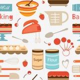 Baking pattern Stock Image