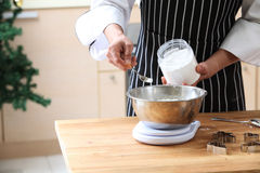 Baking powder Stock Photos