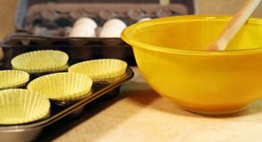 Baking Preparation Stock Photo