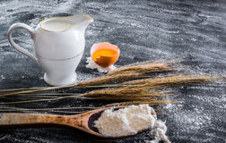 Baking products Royalty Free Stock Photo