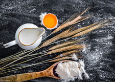 Baking products Royalty Free Stock Photos