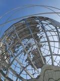 World's Fair Unisphere. Unisphere Globe, from the 1964 World`s Fair, public art New York City landmark in Flushing Meadows Corona Park in Queens stock images