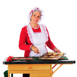 Baking for Santa Royalty Free Stock Photos