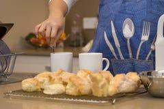 Baking Scones Stock Photography